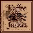 """Avatar """"Kaffeejunkie"""" - 150x150px"""